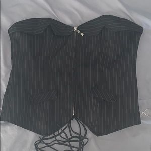 Other - Pinstripe corset